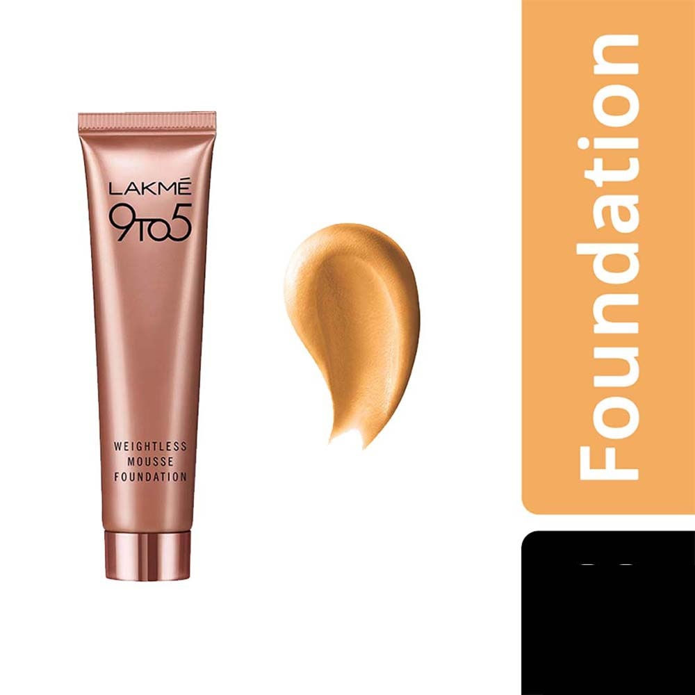 Lakme 9 to 5 Mousse Foundation - Buy Lakme 9 to 5 Weightless Mousse