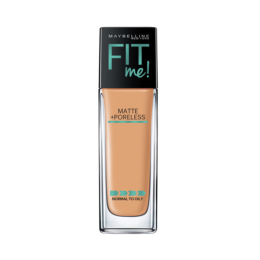Maybelline New York Fit Me Matte + Poreless Foundation - 332 Golden Caramel