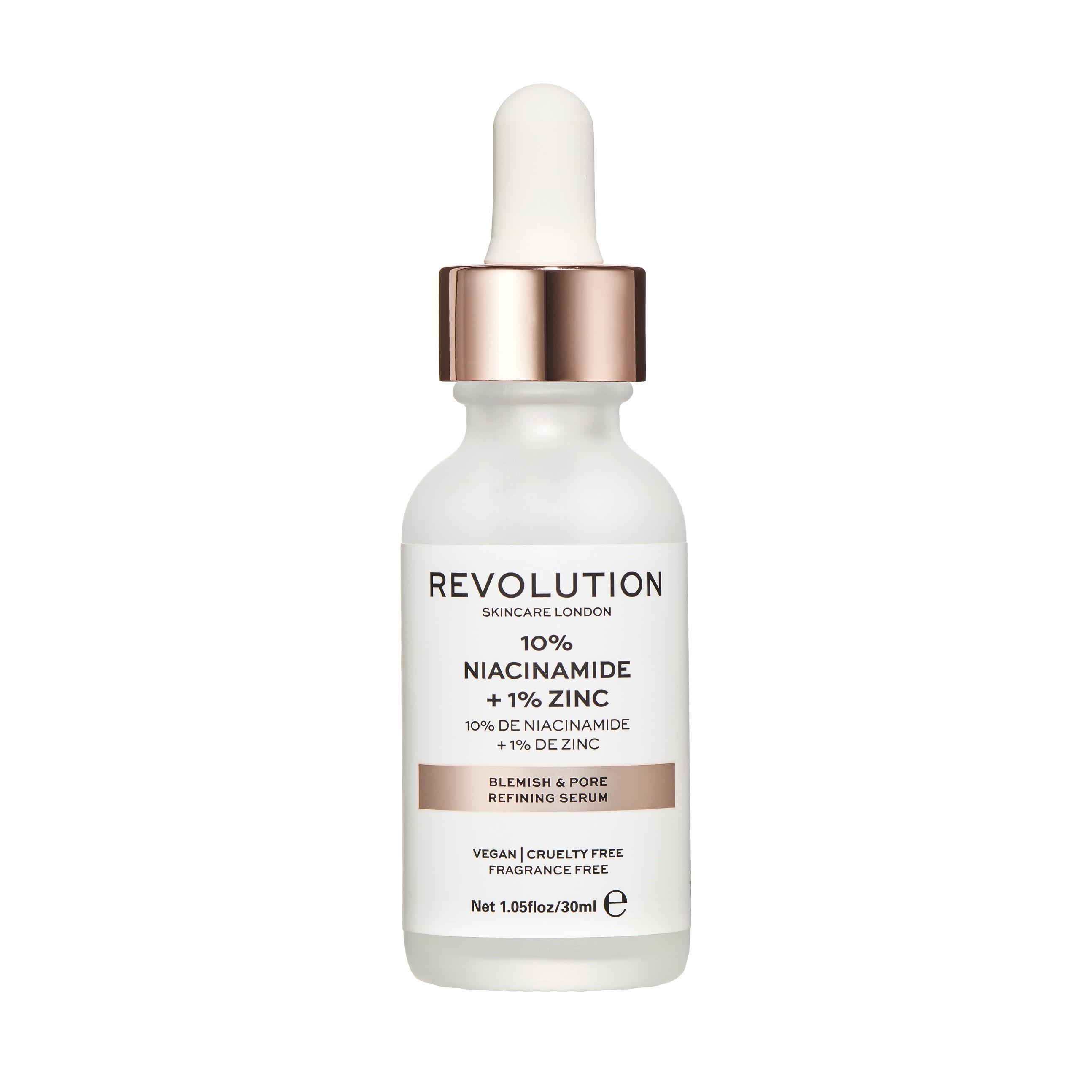 Makeup Revolution Skincare Blemish and Pore Refining Serum - 10% Niacinamide + 1% Zinc(30ml)
