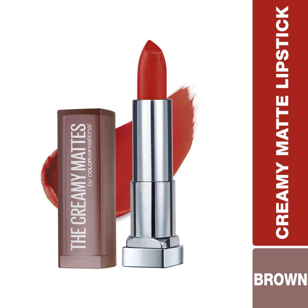 Maybelline New York Color Sensational Creamy Matte Lipstick - Chilli Nude