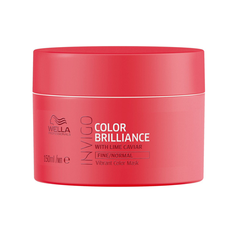 76ec5e763 Wella Professionals INVIGO Color Brilliance Mask For Fine Normal Hair (also  suitable for colored hair)(150ml)