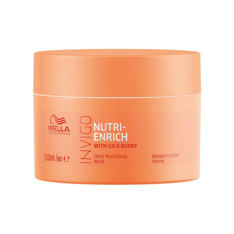Wella Professionals INVIGO Nutri Enrich Deep Nourishing Mask (For Dry And Damaged Hair)