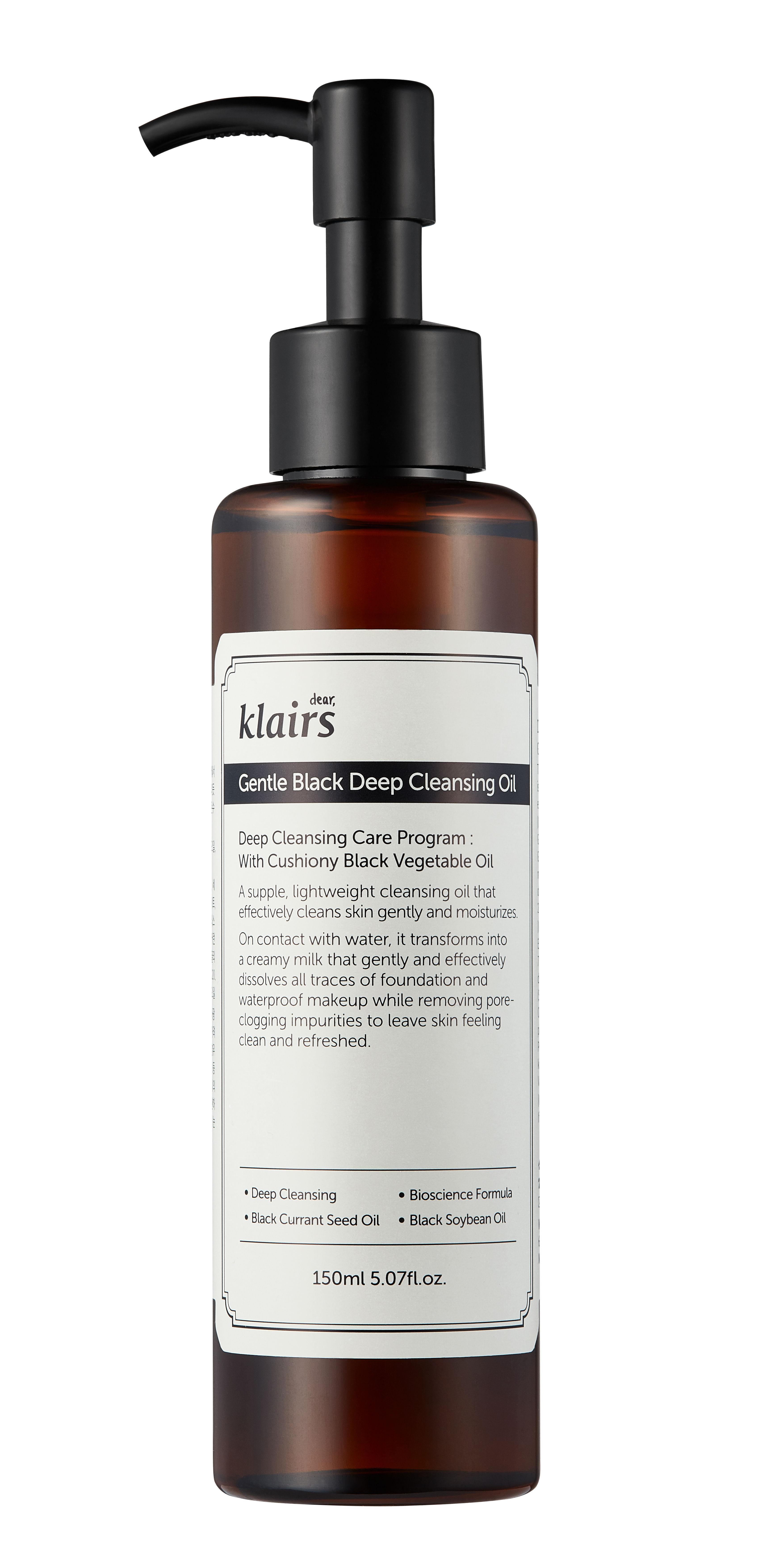 Klairs Gentle Black Deep Cleansing Oil(150ml)