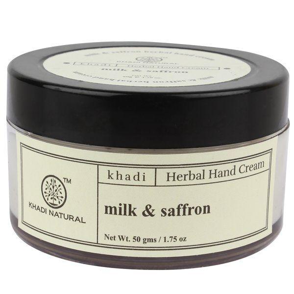 Khadi Natural Milk and Saffron Hand Cream