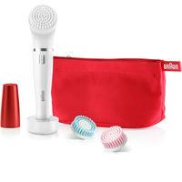 Braun Face 852 - Face Epilator & Facial Cleansing Brush With Micro-Oscillations