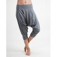 Proyog Women's Organic Yoga Dhoti Pants - Balsam Green