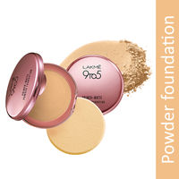 Lakme 9 to 5 Primer + Matte Powder Foundation Compact - Ivory Cream