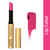 Lakme Absolute Luxe Matte Lip Color With Argan Oil - Grand Fuchsia