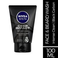 Nivea Men Deep Impact Intense Clean Face Wash