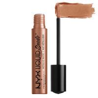 NYX Professional Makeup Liquid Suede Metallic Matte Cream Lipstick - Exposed