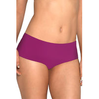 Amante Purple Vanish No-Show Hipster Panty
