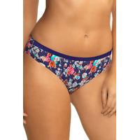 Amante Seamless Blue Floral Print Bikini