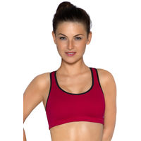 Amante Pink Non-Padded Non-Wired Sports Bra