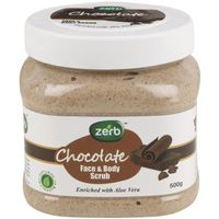 Zerb Chocolate Face & Body Scrub