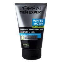 L'Oreal Paris Men Expert White Activ Charcoal Foam