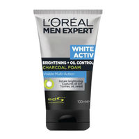 L'Oreal Paris Men Expert White Activ Charcoal Brightening Foam