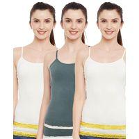 C9 Airwear Women's Camisole Pack of 3 - Multi-Color