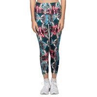 Enamor E040 Athleisure Hugged Legging - Crystal Flora Print