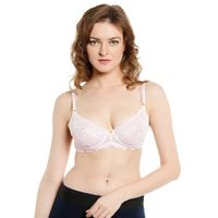 Soie Non Padded Non Wired Seamless Bra - Pink