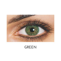 Freshlook 1 Day Color Contact Lens 5 Pairs (Green)