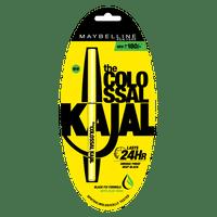 Maybelline New York The Colossal Kajal 24HR Smudge Proof Deep Black