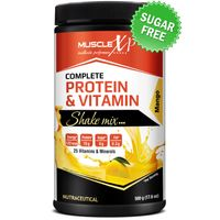 MuscleXP Complete Protein & Vitamin Shake Mix - Mango