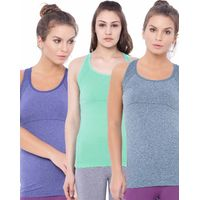 C9 Airwear Pack of 3 Tank Top For Women's - Multi-Color