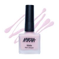 Nykaa Matte Nail Lacquer - Pink Meringue 28