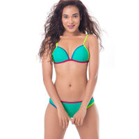 PrettySecrets Triangle Top Bikini - Blue