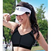 Enamor SB14 High Impact Sports Bra Removable Pads , Wirefree & Front Zipper - Graphite