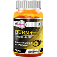 St.Botanica Burn+ Weight Management - 90 Veg Capsules