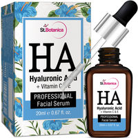 St.Botanica Hyaluronic Acid + Vitamin C, E Facial Serum