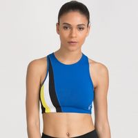 Zivame Zelocity Groovy Dancing Medium Impact Sports Bra - Blue