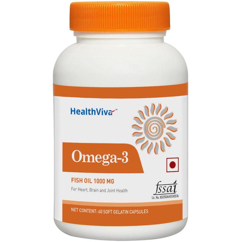 HealthViva Flaxseed Oil (Omega 3 -6 -9)