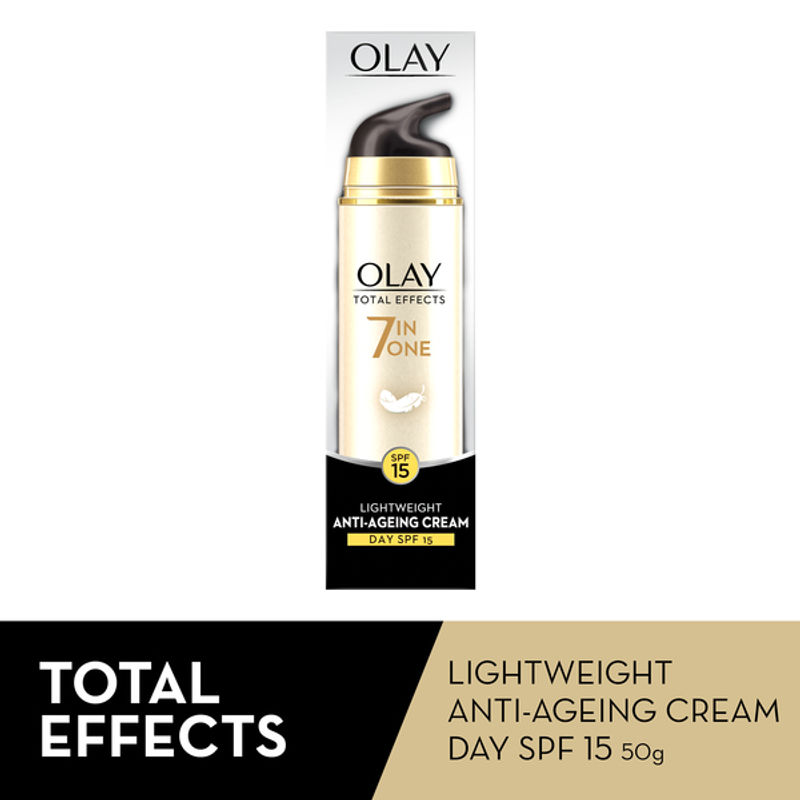 Olay Total Effects 7 In One Light Weight Anti-Ageing Cream Day SPF 15-50gm