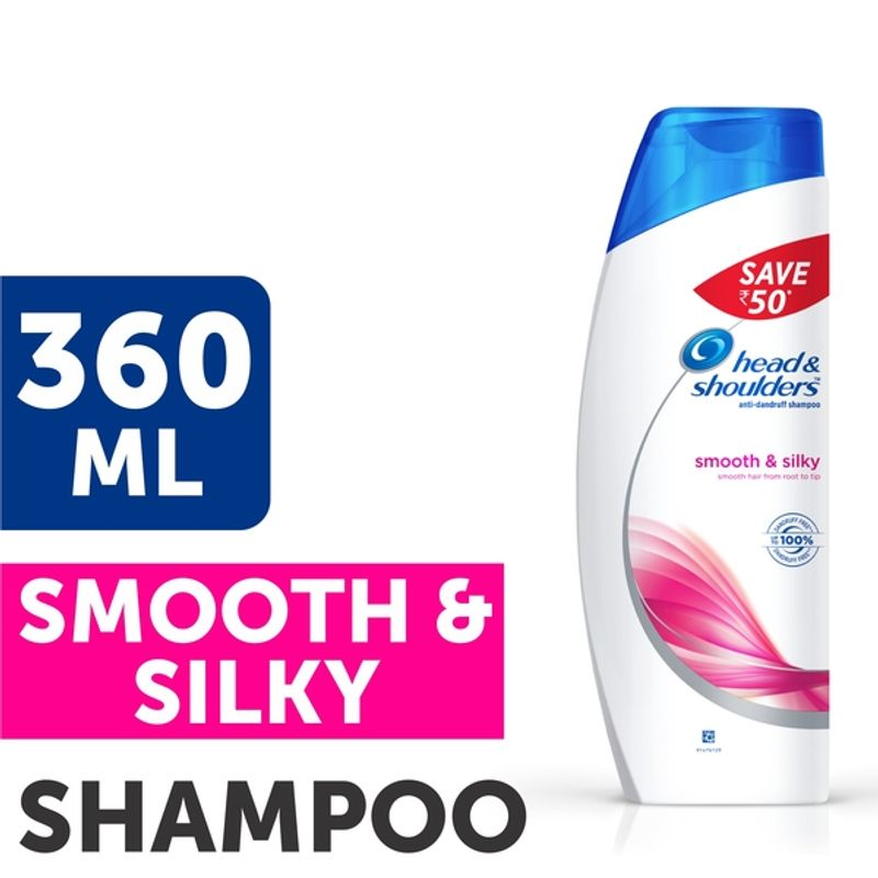 Head & Shoulders Smooth & Silky Shampoo Save Rs.50