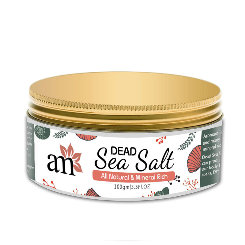 AromaMusk 100% Natural And Mineral Rich Dead Sea Salt
