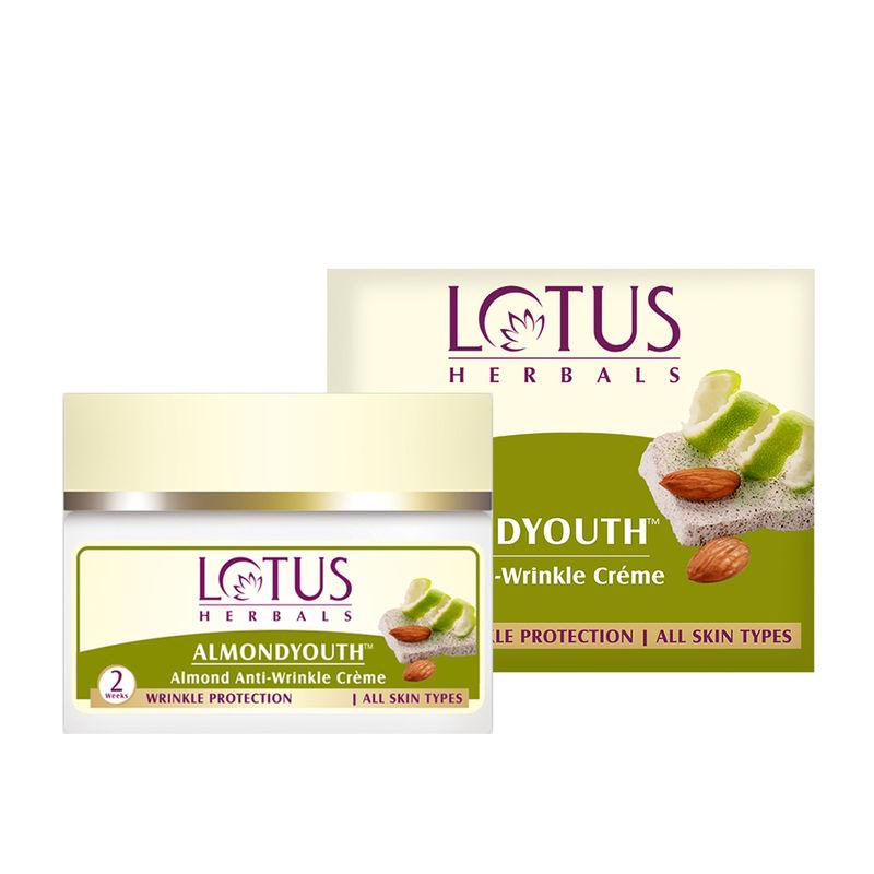 Lotus Herbals Almondyouth Almond Anti-Wrinkle Creme