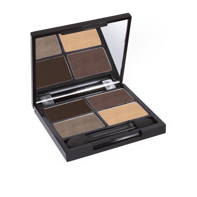 Zuii Organic Flora Eyeshadow Quad Palette - Natural