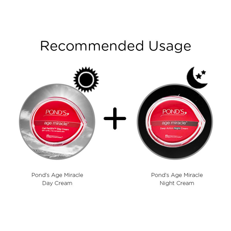 Ponds Anti Ageing - Buy Ponds Age Miracle Cell ReGEN Day Cream SPF 15PA++ Online in