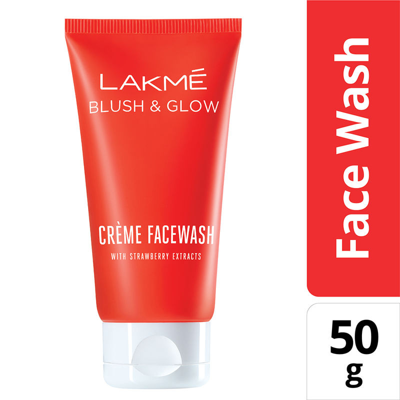 Lakme Strawberry Creme Face Wash