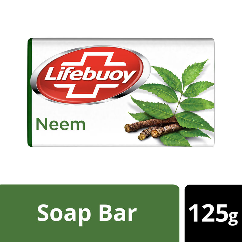 Lifebuoy Neem And Aloe Vera 100% Better Skin Protection Soap Bar