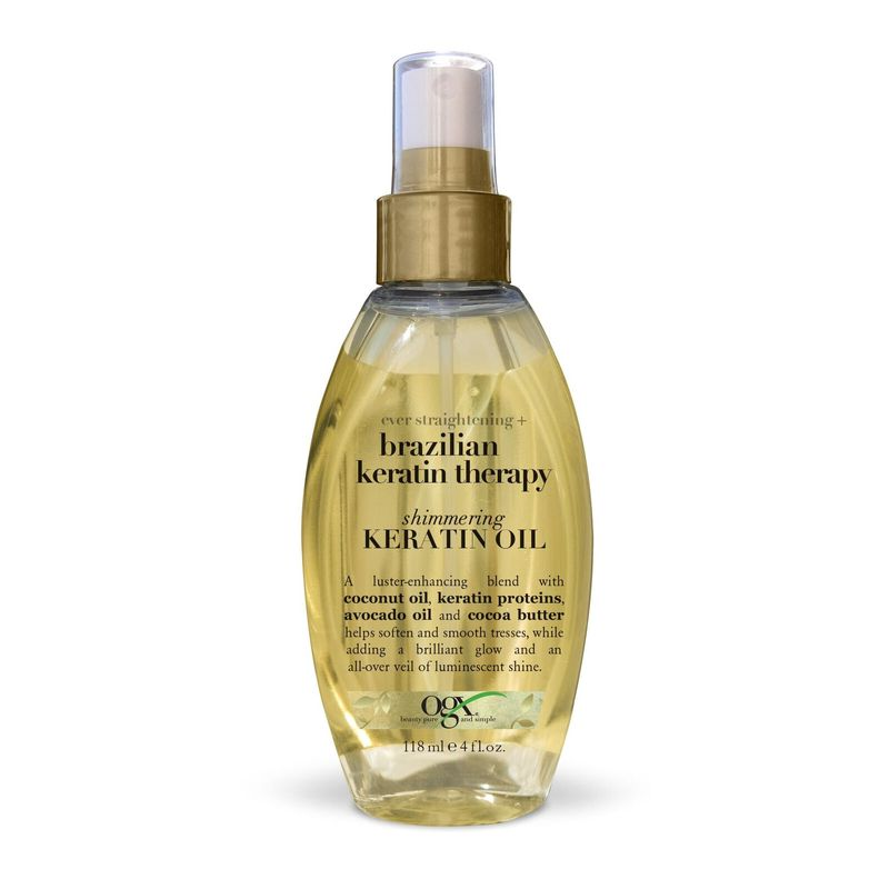 OGX Brazilian Keratin Therapy Shimmering Keratin Oil