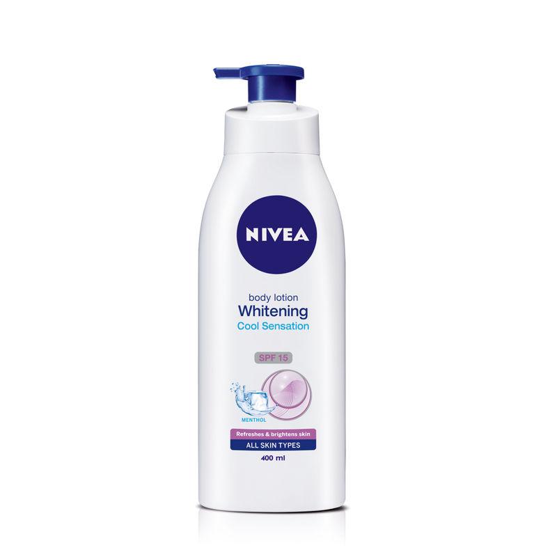 Nivea Whitening Cool Sensation Body Lotion - 8904256001359