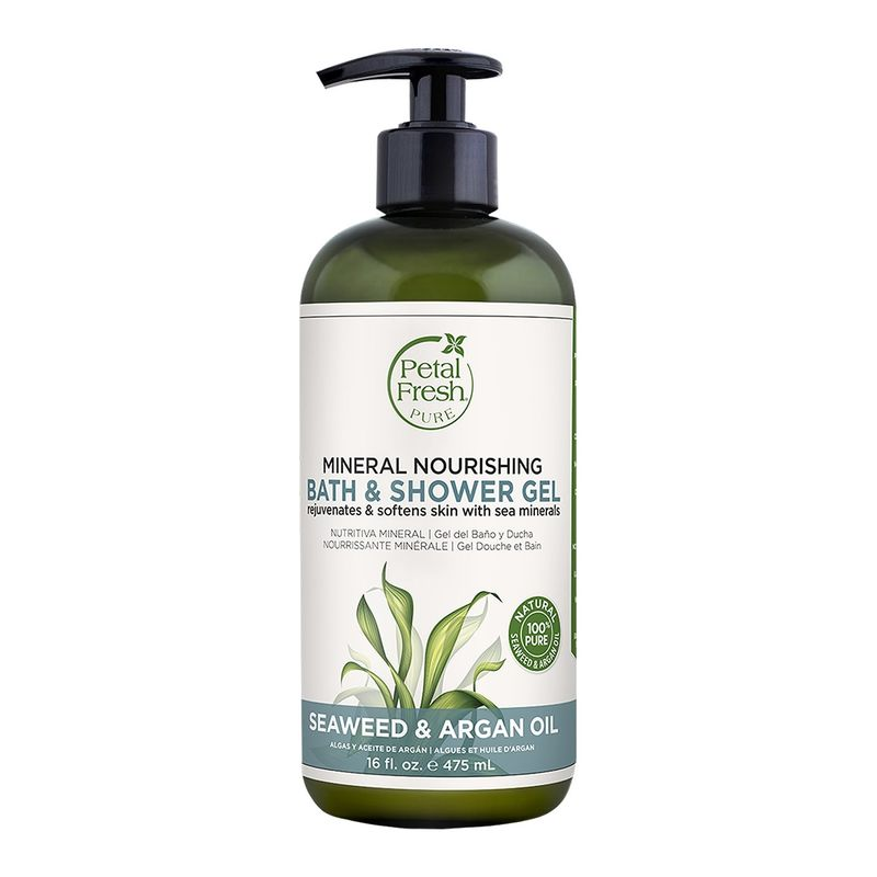 Petal Fresh Pure Seaweed & Argan Oil Mineral Nourishing Bath & Shower Gel