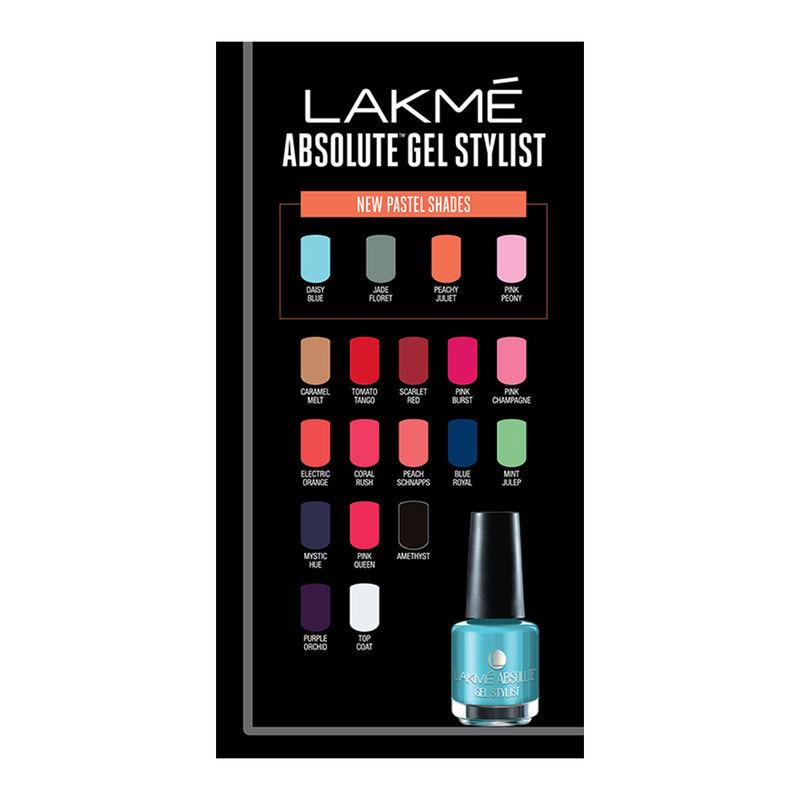 Lakme Nail Polish - Buy Lakme Absolute Gel Stylist Nail Polish ...