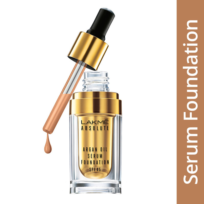 Lakme Absolute Argan Oil Serum Foundation With SPF 45 - Natural Light