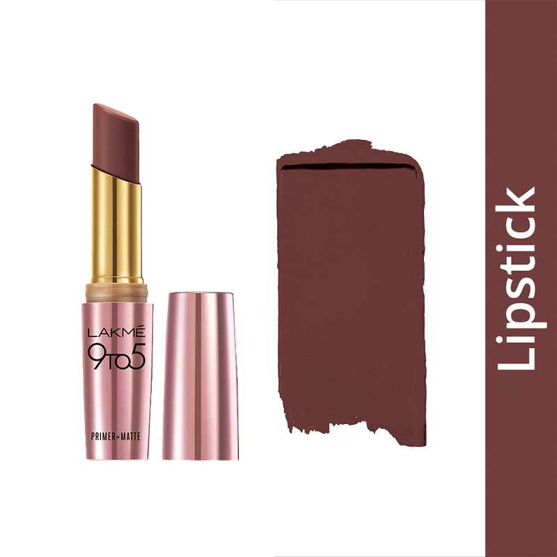 Lakme 9 To 5 Primer + Matte Lip Color - Sangria Weekend