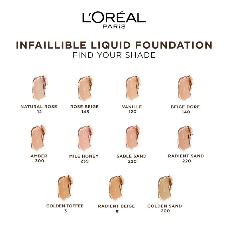 Loreal Paris Face Foundation Buy Loreal Paris Infallible 24h