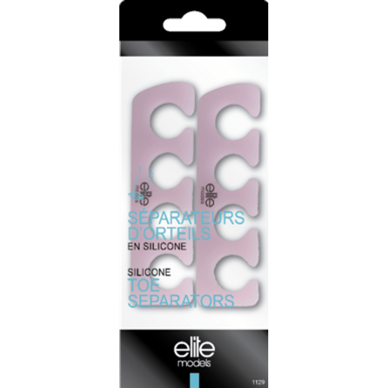 Elite Models (France) Silicone Toe Separators For Pedicure
